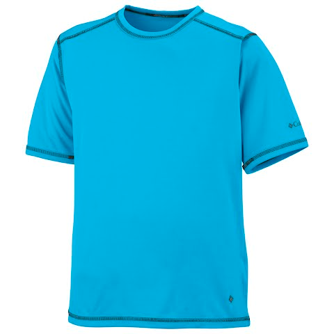 Product image of Columbia Youth Boy ' S Silver Ridge Tee - Compass Blue