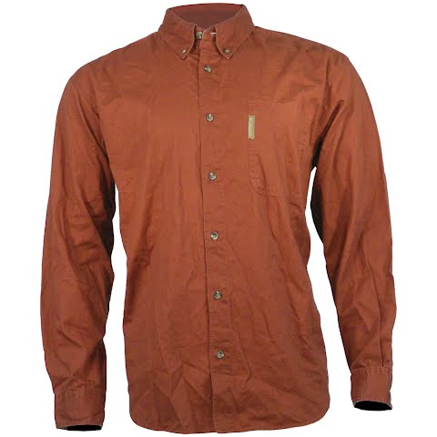 Product image of Columbia Men ' S Lewisville Twill Long Sleeve Shirt - Red Rover