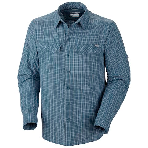 Product image of Columbia Men ' S Silver Ridge Plaid Long Sleeve Shirt ( Exteneded Sizes ) - Mountain