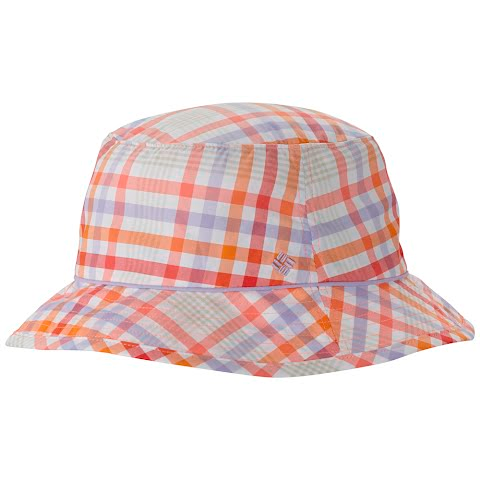 Product image of Columbia Women ' S Bahama Bucket Hat - Hot Coral Plaid