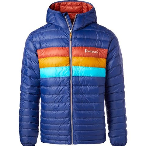 Cotopaxi Men ' S Fuego Hooded Down Jacket - Admiral