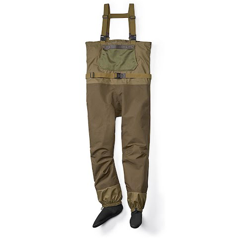 Filson Mens Pro Guide Waders – River Green