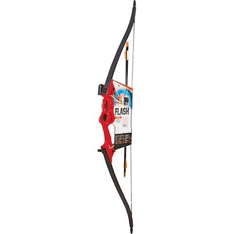 Fred Bear Archery Youth Flash Bow Set – Red