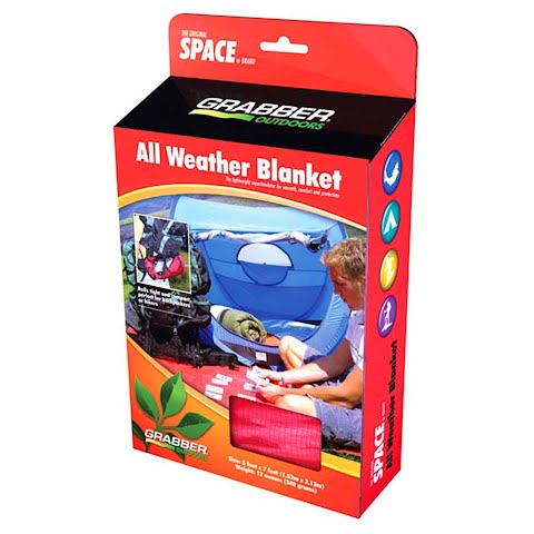 Product image of Grabber Intl All Weather Blanket - Red