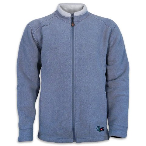 Image of Hot Chillys Mens Cabo Full Zip Jacket - Slate