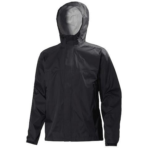 Product image of Helly Hansen Mens Loke Rain Jacket - Black