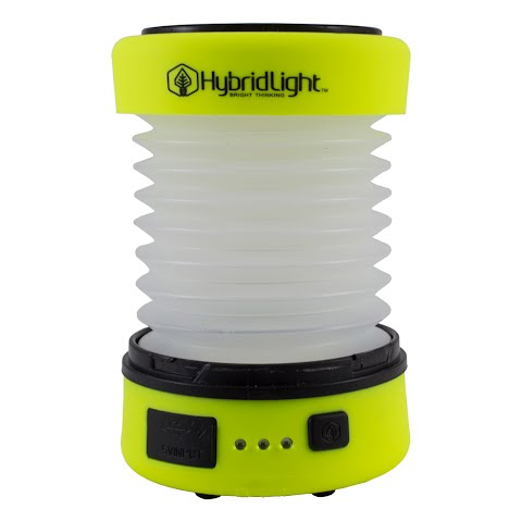 Product image of Hybrid Light The Puc Expandable Lantern / Charger - Hi Vis Yellow