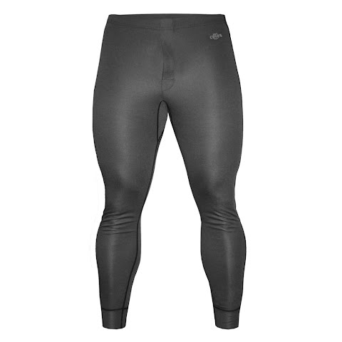 Image of Hot Chillys Men ' S Geo Fly Bottom - Black Heather