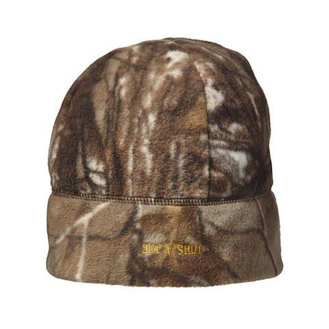 Hot Shot Mens Caliber Camo Fleece Beanie – Realtree Ap Xtra
