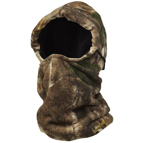 Product image of Hot Shot Youth Challenger 4 - In - 1 Fleece Balaclava - Realtree Xtra