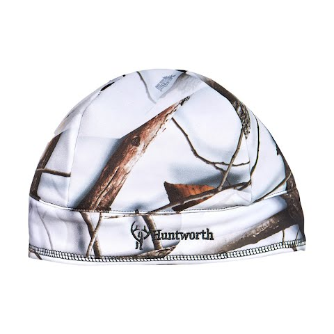 Huntworth Men ' S Fleece Camo Beanie – Snow Camo