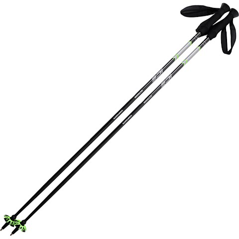 Image of Ice Outdoor Sports Extreme Composite Ski Poles - Green