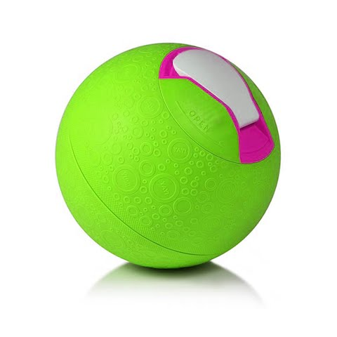 Image of Industrial Yaylabs Softshell Ice Cream Ball ( Quart ) - Lime