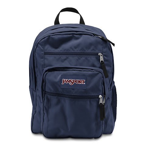 Image of Jansport Big Student Day Pack ( Discontinued ) - Navy
