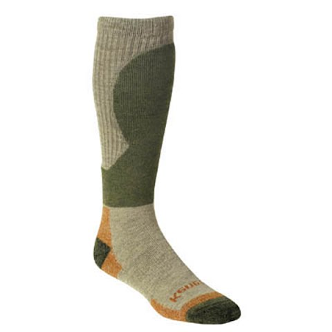 Image of Kenetrek Men ' S Canada Mid Wt Sock - Tan / Green