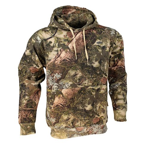 Image of King ' S Camo Cotton Pullover Hoodie - Mountain Shadow