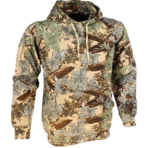Image of King ' S Camo Cotton Pullover Hoodie - Desert Shadow