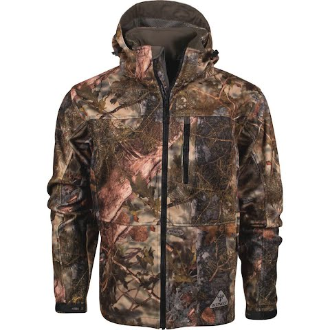 King ' S Camo Men ' S Hunter Series Wind Defender Fleece Jacket – Mountain Shadow