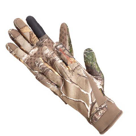 Manzella Men ' S Coyote Touch Tip Glove – Realtree Xtra
