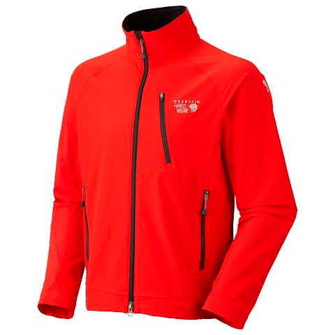 Image of Mountain Hardwear Mens Onata Jacket - Bright Red