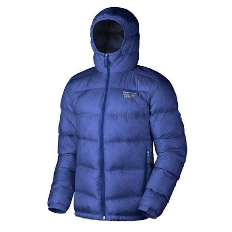 Image of Mountain Hardwear Men ' S Kelvinator Jacket - Bluechip