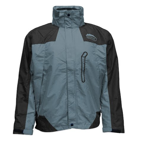 M T Mountaineering Men ' S Andes System Jacket - Charcoal / Black