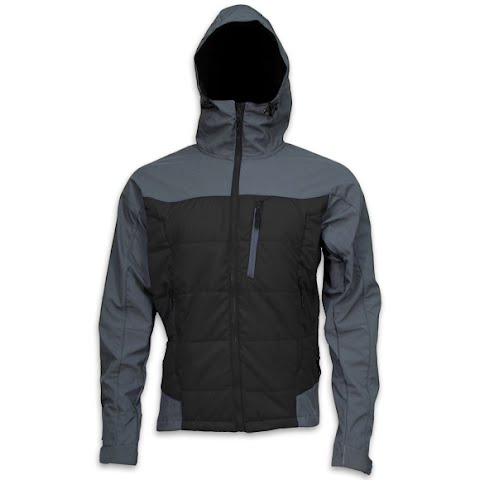 Image of M T Mountaineering Mens Summit Jacket - Black / Charcoal