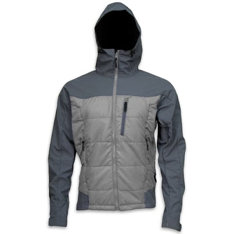 Image of M T Mountaineering Mens Summit Jacket - Grey / Charcoal