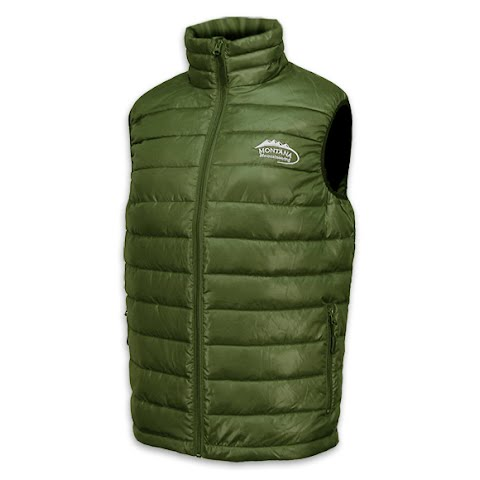 Image of M T Mountaineering Men ' S Down Vest - Forest