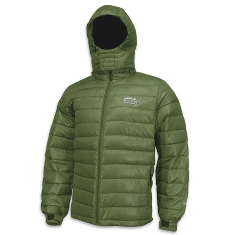 Image of M T Mountaineering Mens Down Jacket - Forest