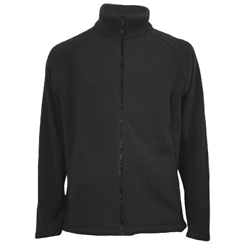 Image of M T Mountaineering Mens Double Knit Fleece Jacket - Black