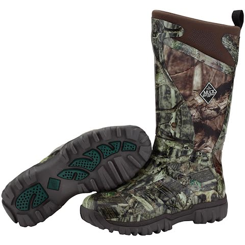 Image of Muck Boot Co Men ' S Pursuit Supreme Neoprene Hunting Boot - Mossy Oak Infinity