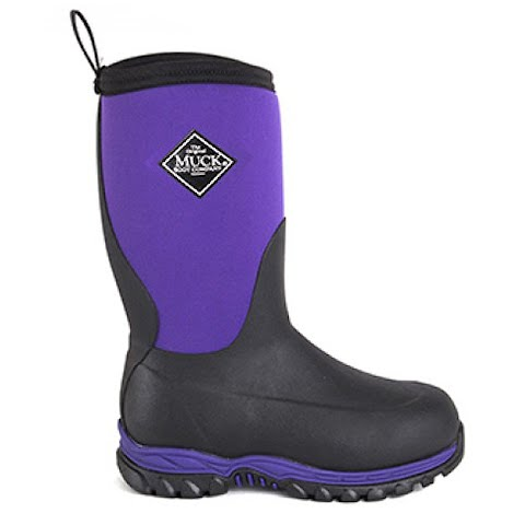 Image of Muck Boot Co Youth Rugged Ii - Purple