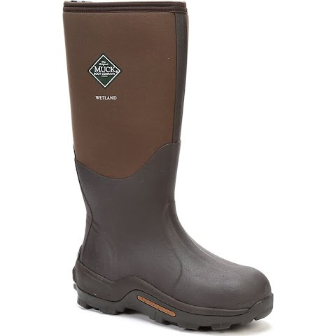 Image of Muck Boot Co Mens Wetland Premium Field Boot - Bark