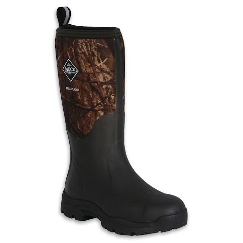 Image of Muck Boot Co Women ' S Wetland Boots - Buck Brush Camouflage