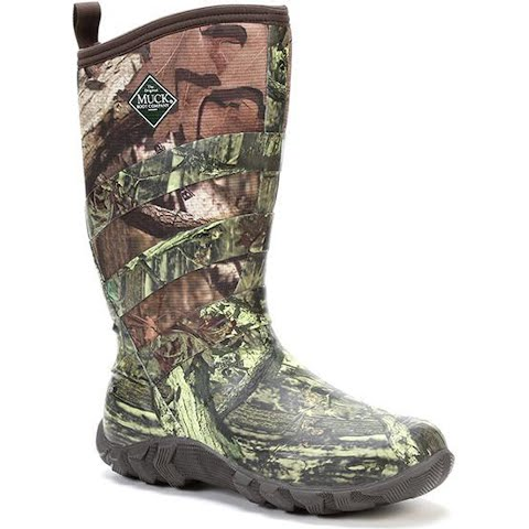 Muck Boot Co Men ' S Pursuit Fieldrunner Boots – Mossy Oak Infinity