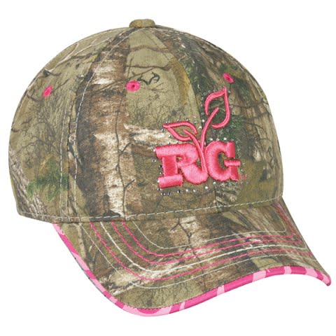 Outdoor Cap Women ' S Team Realtree Cap – Realtree Xtra / Pink