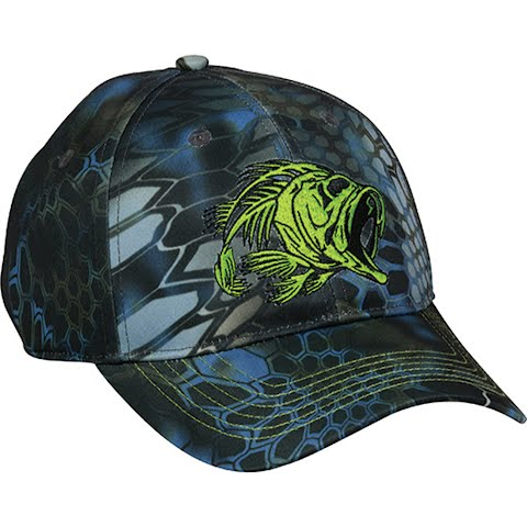 Outdoor Cap Men ' S Bonefish Cap – Kryptek Neptune