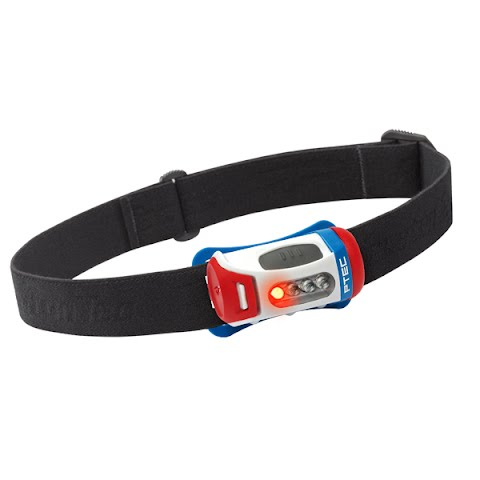 Product image of Princeton Tec Fred Headlamp - Red / White / Blue