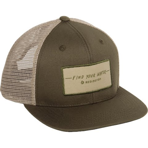 Image of Redington Fyw Script Trucker Hat - Olive