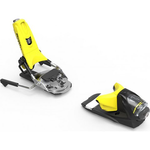 Product image of Look Dynastar Pivot 12 Dual Wtr B95 Or B115 Ski Bindings - Yellow / Black