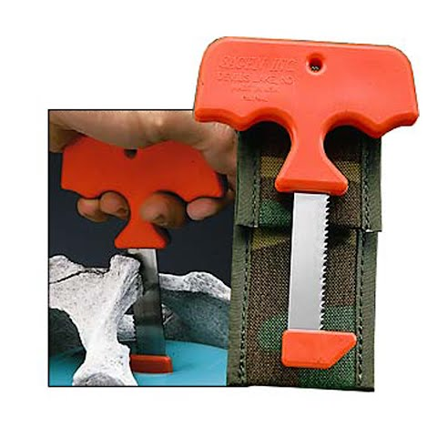 Sagen Saw I Hunters Field Saw With Sheath – Orange