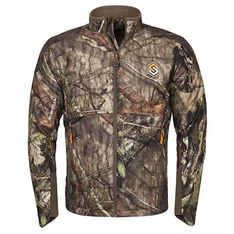 Scent Lok Men ' S Full Season Taktix Jacket ( Regular And Tall ) – Realtree Edge