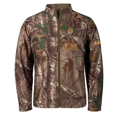 Scent Lok Men ' S Pursuit Lightweight Jacket ( Extended Sizes ) – Realtree Xtra