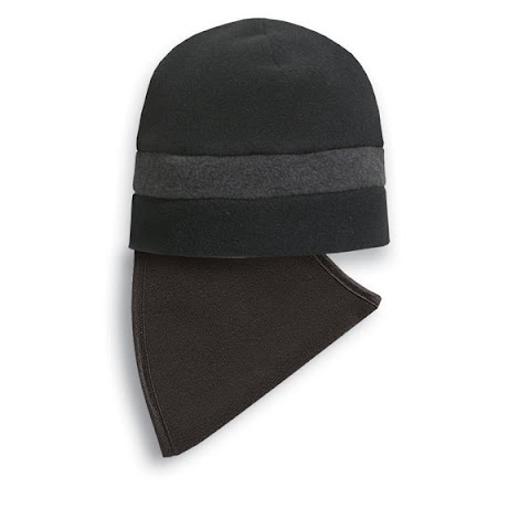 Product image of Seirus Quick Clava Fleece Stripe Beanie - Black / Charcoal