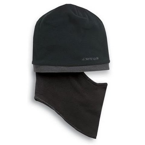 Product image of Seirus Youth Junior Quick Clava Fleece Knit Beanie - Black / Charcoal