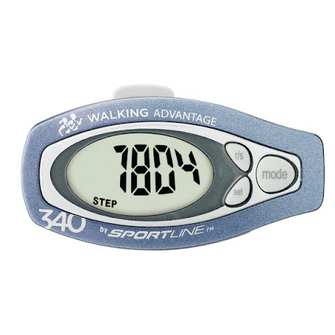 Product image of Sportline 340 Step And Distance Pedometer - Blue