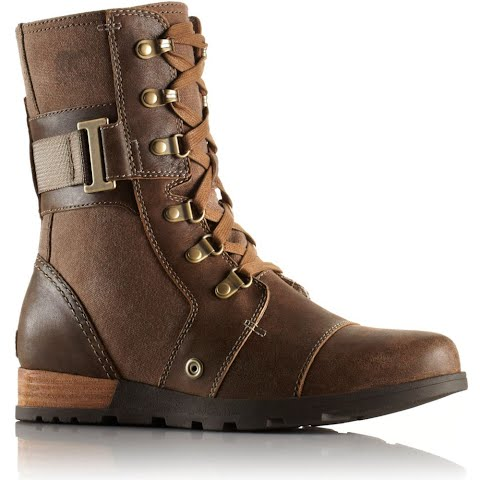 Product image of Sorel Women ' S Major Carly Leather Boot - Nutmeg / Flax