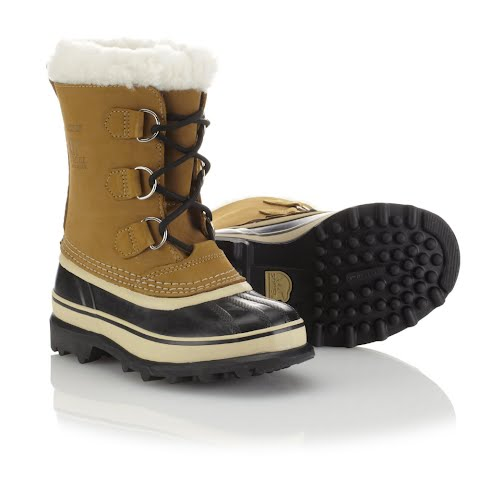 Sorel Youth Caribou Boots - Buff