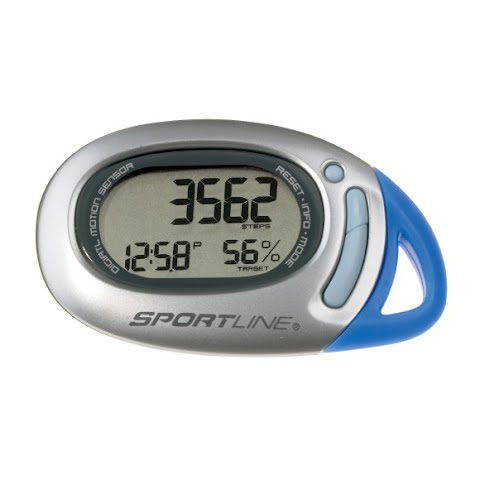 Product image of Sportline 370 Traq Anywhere Pedometer - Silver